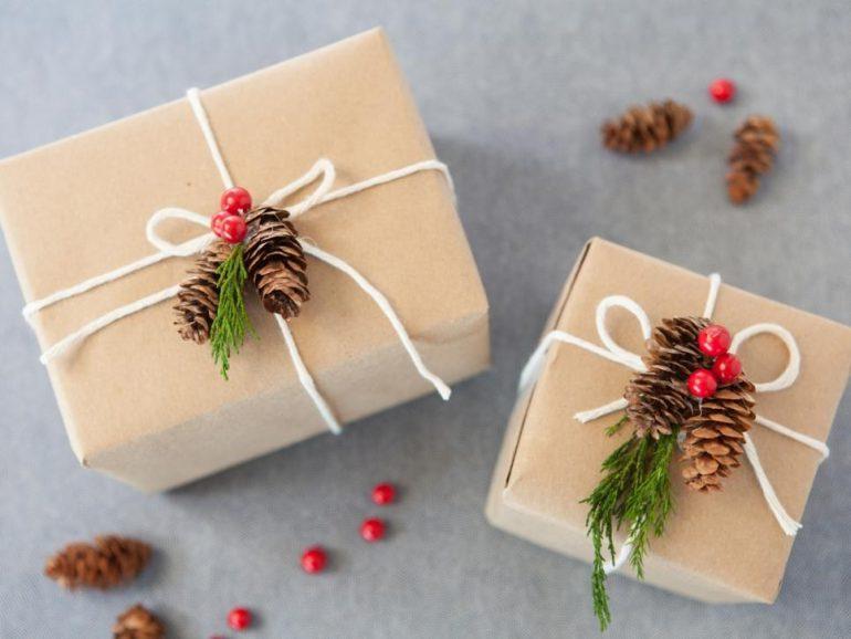 Regali Di Natale Semplici Fai Da Te.Regali Di Natale Come Confezionarli In Modo Originale Con Il Fai Da