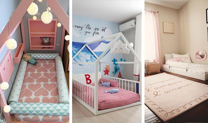 Letto Per Bambini Montessori : Lettino montessori fai da te