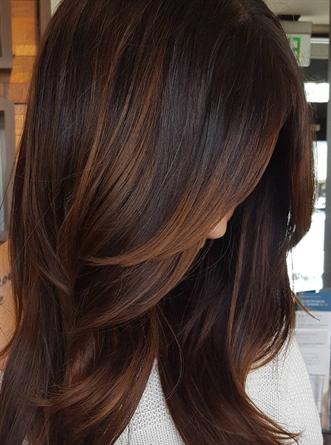 Immagini colori caldi capelli