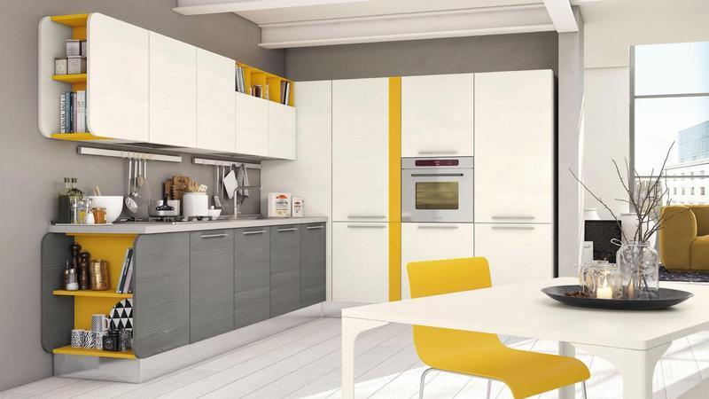 Arredare in giallo e bianco per una casa chic e primaverile