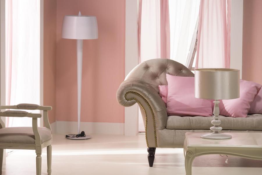 Pareti Rosa Antico : Tinta pareti rosa antico pareti rosa antico o rosa cipria esempi