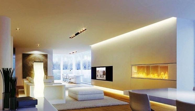Arredare con le lampade come rendere bellissima la propria casa con la luce mamme a spillo - Luci a led per interni casa ...