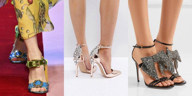 Summer Shoes  i sandali gioiello da indossare nelle occasioni speciali 32b1cf84307