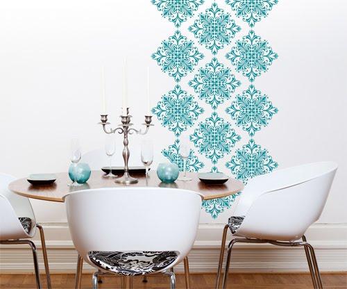 Come rendere le pareti di casa uniche: colori e stampe da copiare ...