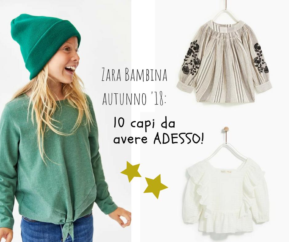 Il back to school di Zara bambina per l'autunno 2018 (10