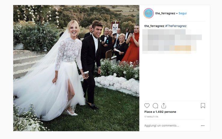 Matrimonio In Diretta Ferragnez : The ferragnez il matrimonio dell anno c è stato ed