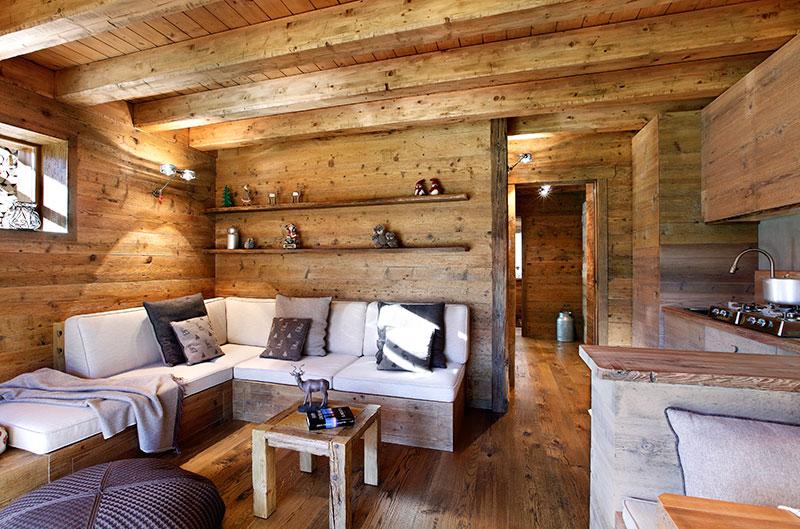Come arredare una casa di montagna in modo semplice e for Arredamento per case piccole
