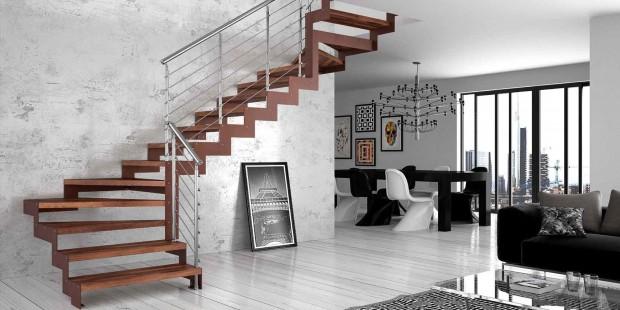 Arredare con le scale consigli e idee per realizzare scale da interni bellissime mamme a spillo - Scale a vista per interni ...