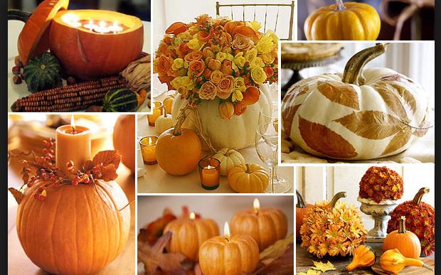 Decorazioni Autunnali Per La Casa : Decorazioni con le zucche come portare il fascino dell autunno in