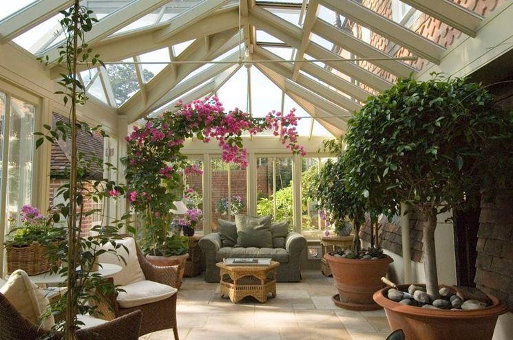 Giardino Dinverno In Casa : Giardino d inverno come realizzarne uno da sogno a casa propria