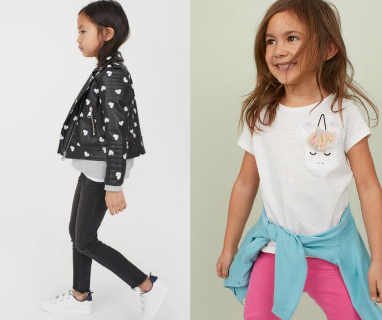 all'avanguardia dei tempi carina il più economico H&M bambina, le scelte di Giulia per la primavera - Mamme a ...