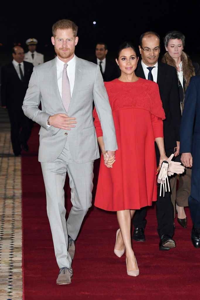 Meghan Markle in Valentino