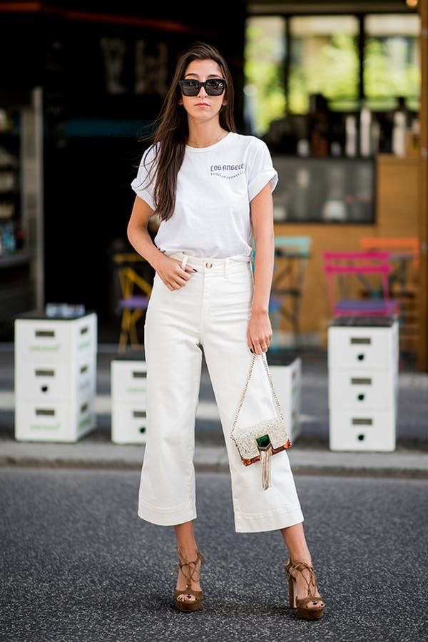 Cropped e flare: il jeans dell'estate 2019 è questo Mamme