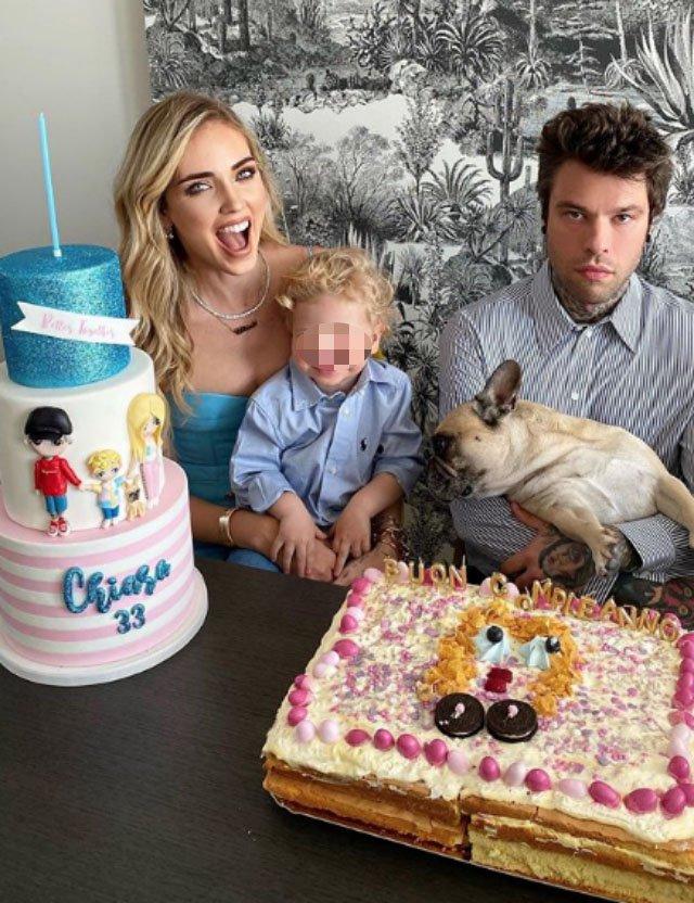Favorito Compleanno casalingo per Chiara Ferragni: ecco la sorpresa super UT26